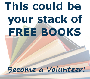 Volunteer to earn free books